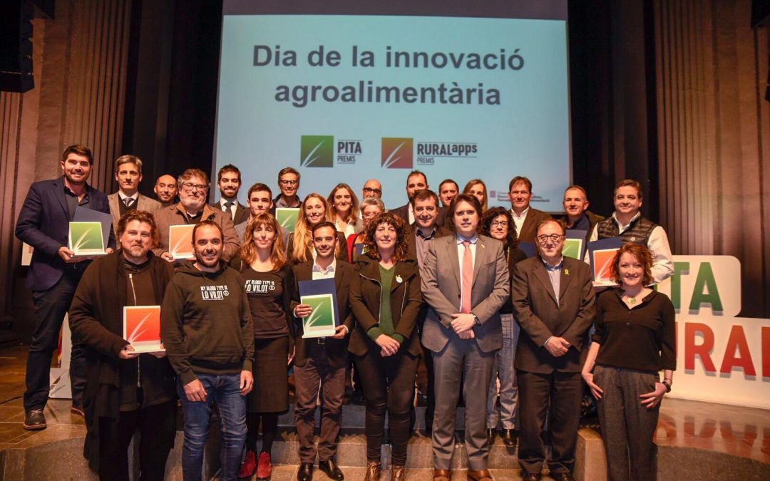The Food Innovation day took place in Girona (Catalonia) last January 31st rewarding innovation in the agrifood sector